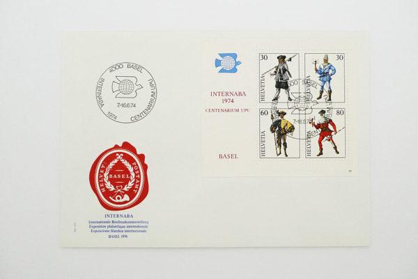Ersttagsbrief (FDC) 29.1.1974