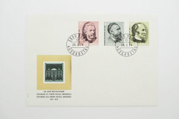 Ersttagsbrief (FDC) 28.3.1974