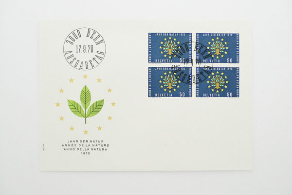 Ersttagsbrief (FDC) 17.9.1970