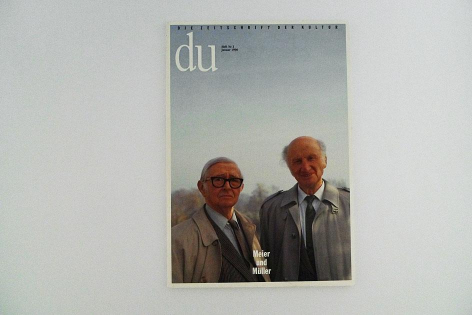 du; Meier und Müller