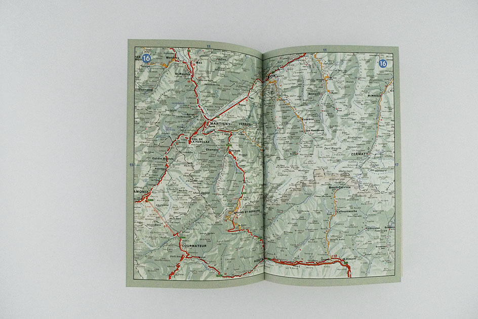 CH Touring. Die Schweiz und Grenzgebiete