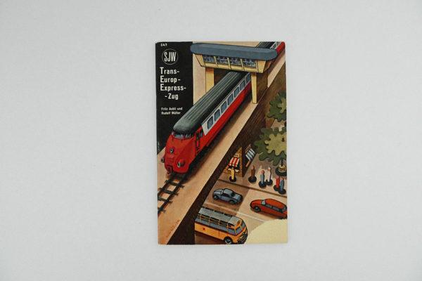 Trans-Europ-Express-Zug - SJW Heft 647
