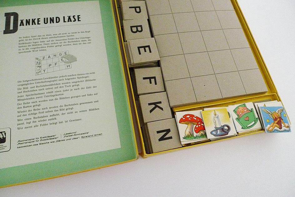 Spiel «Dänke und läse»