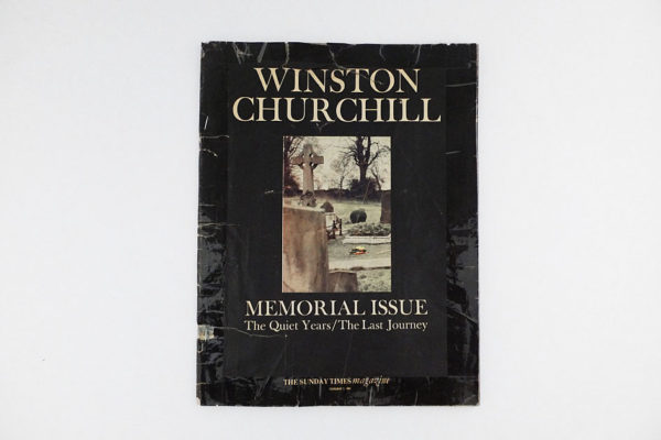 Winston Churchill Memorial Issue
