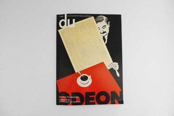 du; Schweizer Künstlerplakate