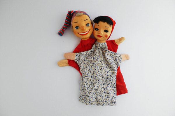 Kasperlifiguren; Kasper und Gretli
