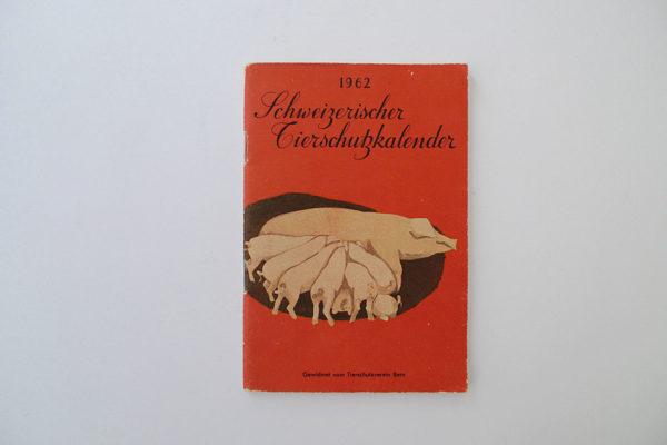 Schweizerischer Tierschutzkalender 1962