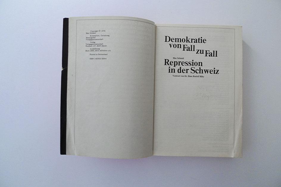 Demokratie von Fall zu Fall