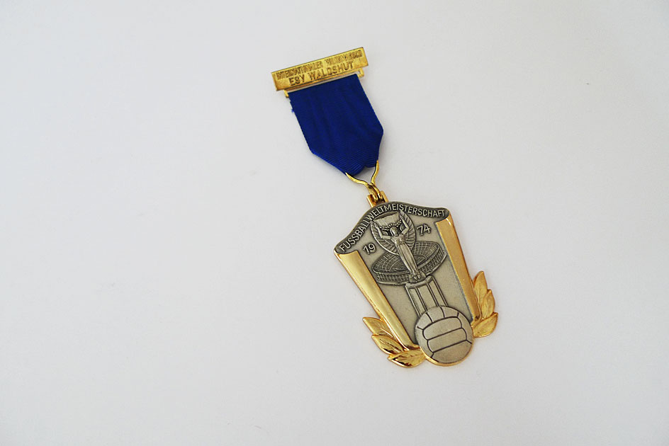 Medaille Fussballweltmeisterschaft 1974
