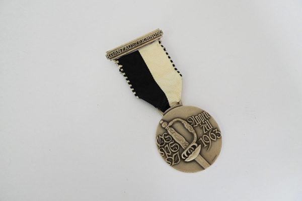 Medaille Kranzauszeichnung; Appenzell 1963