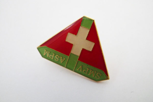 Pin SMPV ASPM; Militärpolizeiverband