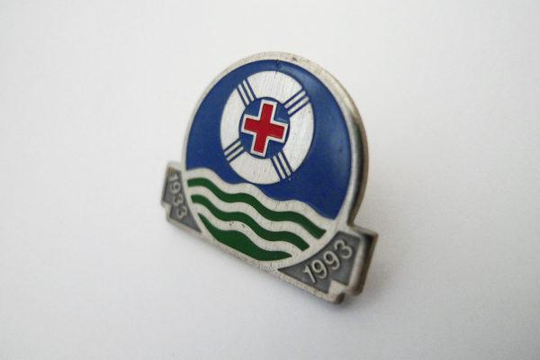 Pin SLRG 60 Jahre; Schweizerische Lebensrettungs-Gesellschaft 1933 - 1993