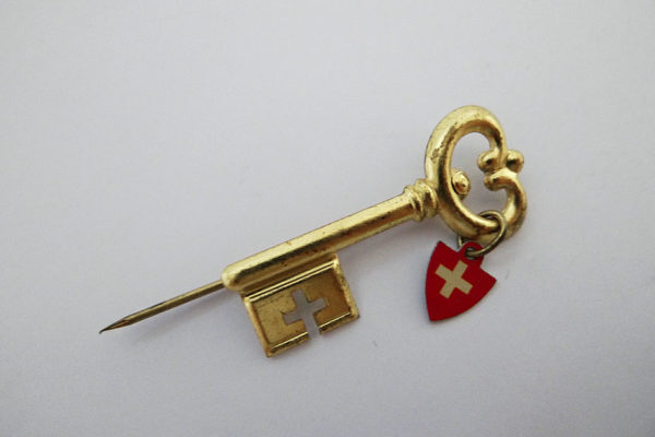 Pin Winterhilfe Schweiz 1947/1948