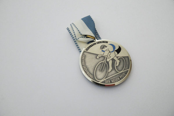 Medaille Rennbahn Oerlikon