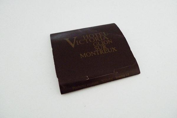 Nähset; Hotel Victoria, Glion sur Montreux