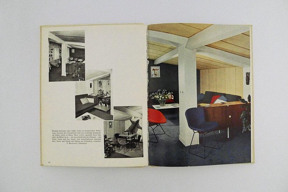 Wohnräume modern und rustikal