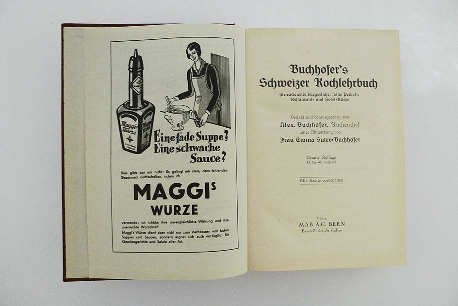Buchhofer's Schweizer Kochlehrbuch