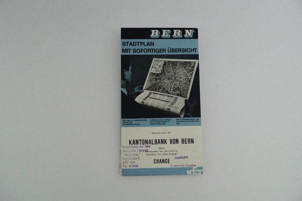 Bern; Stadtplan mit sofortiger Übersicht