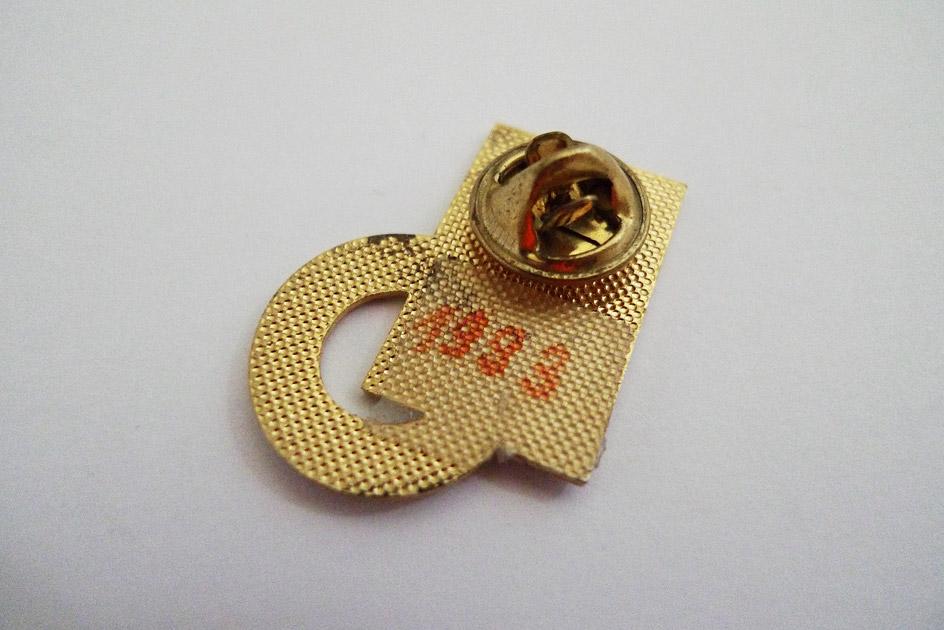 Pin 100 Jahre PTT Union St.Gallen