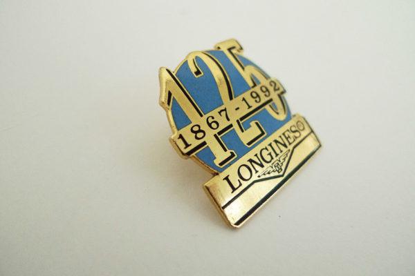 Pin Longines 125 Jahre; 1867 - 1992
