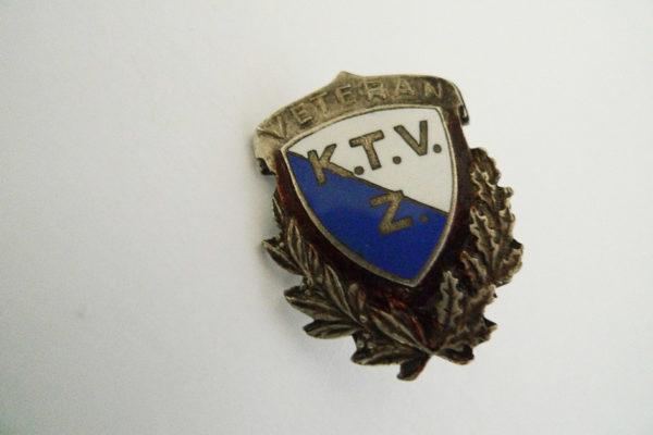 Pin K.T.V.Z. Veteran