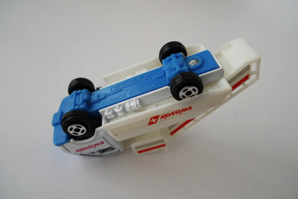 Modellauto Swissair
