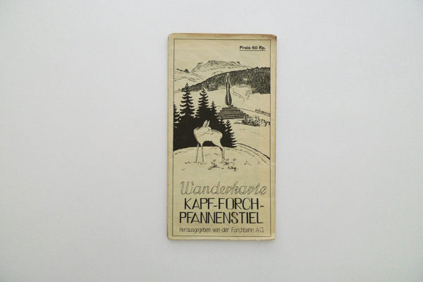 Wanderkarte Kapf - Forch - Pfannenstiel