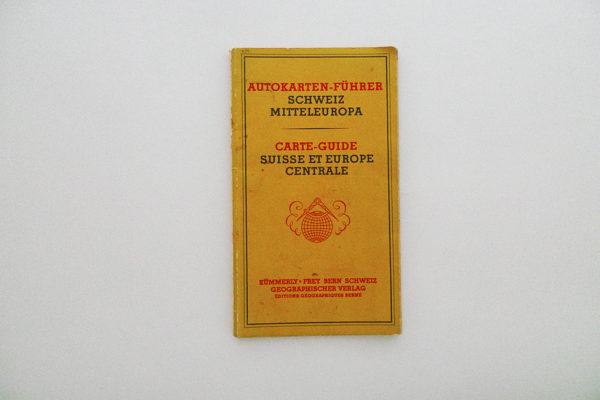 Autokarten-Führer Schweiz Mitteleuropa