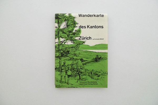 Wanderkarte des Kantons Zürich