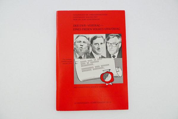 Der EWR-Vertrag - Eines freien Volkes unwürdig