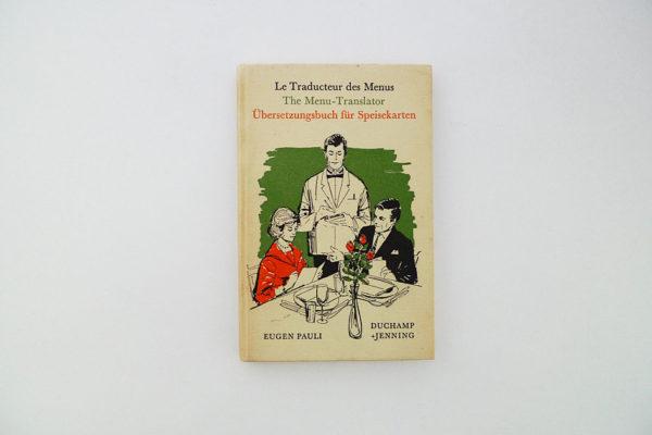 Übersetzungsbuch für Speisekarten