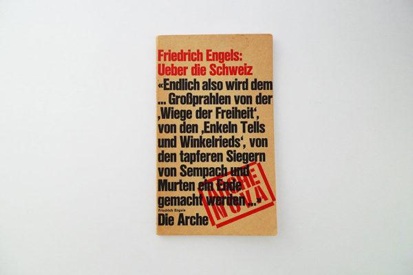 Friedrich Engels: Ueber die Schweiz