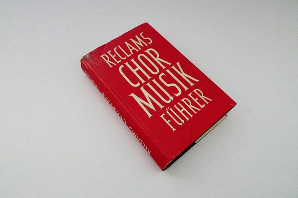 Reclams Chormusikführer