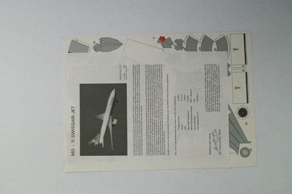MD-11 Swissair-Jet