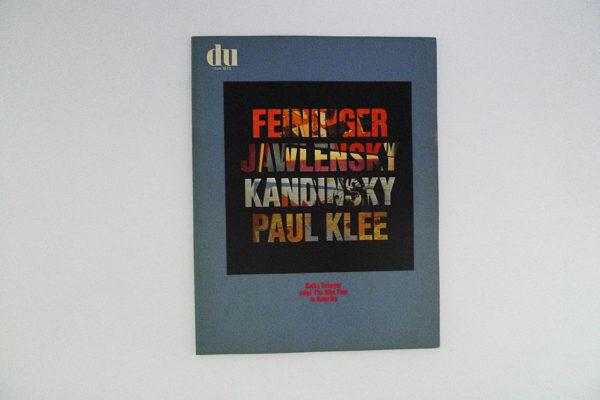 du; Feininger; Jawlensky; Kandinsky; Paul Klee