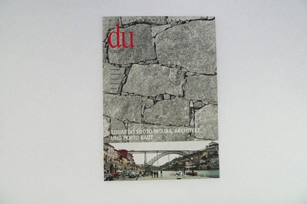 du; Eduardo Souto Moura, Architekt, und Porto baut