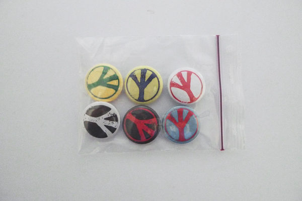 Pins Serie 1 Peace