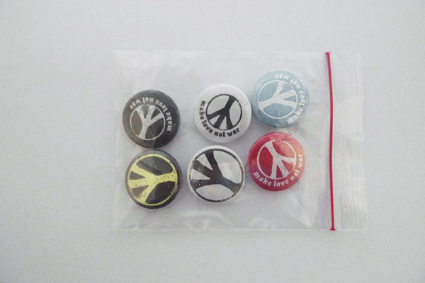 Pins Serie 5 Peace