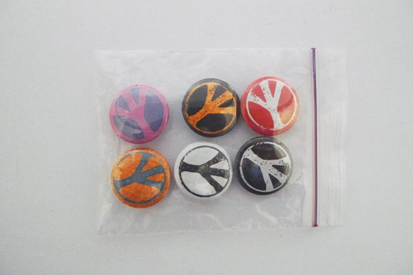 Pins Serie 10 Peace