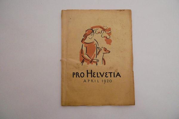 Pro Helvetia April 1920
