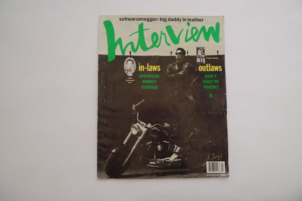 Interview, July 1991