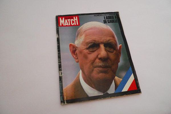Paris Match - Numero Historique L'adieu a de Gaulle