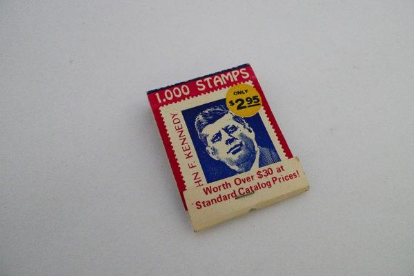 Zündholzbriefchen 1.000 Stamps