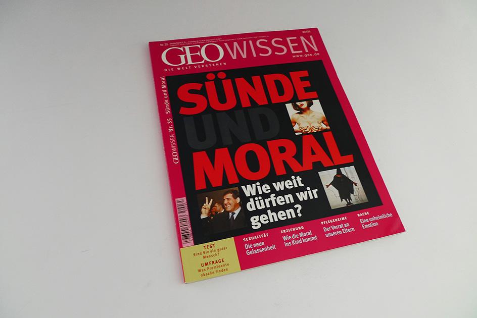 GEO WISSEN Sünde und Moral