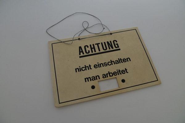 Sicherheitstafel