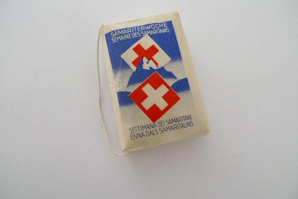 Verbandpatrone; Samariterwoche des Schweizerischen Roten Kreuzes 1934