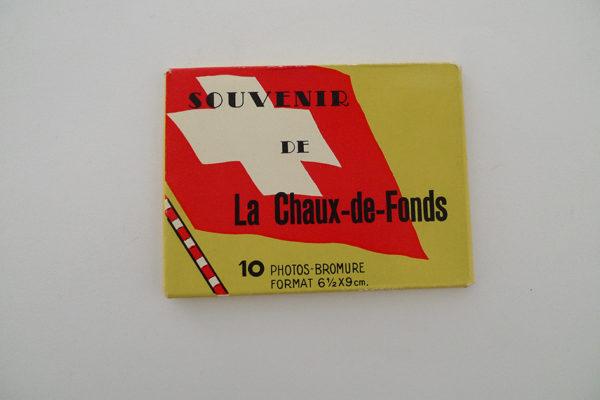 Souvenir de La Chaux-de-Fonds