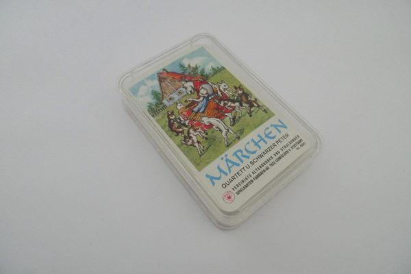 Märchen Quartett und schwarzer Peter