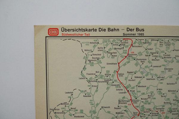 Übersichtskarte DB