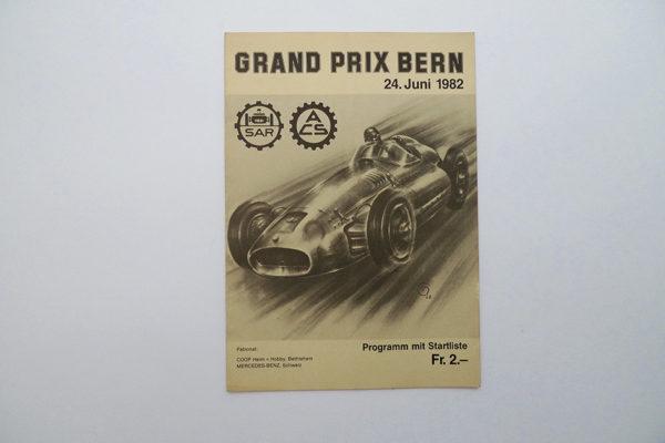 GRAND PRIX BERN; 24. Juni 1982